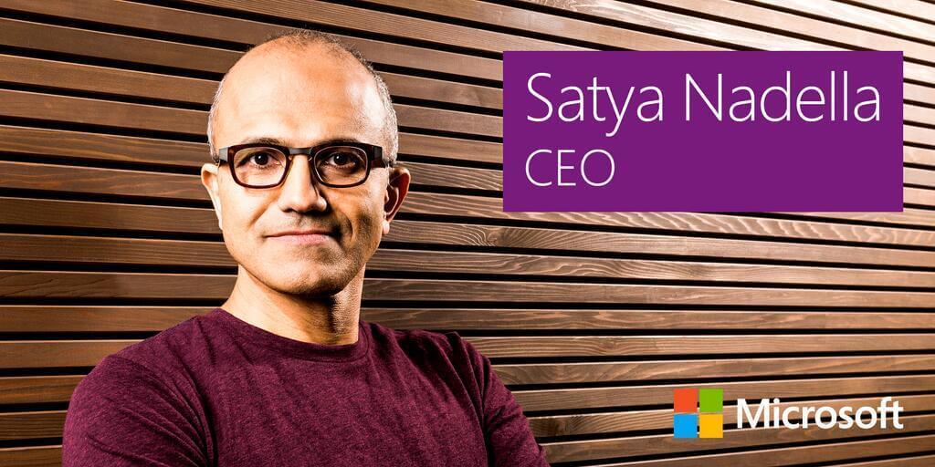 Satya Nadella, CEO, Microsoft