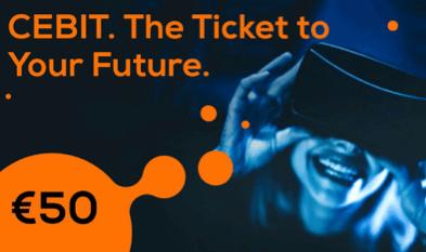 Kom en beleef THE 'NEW CEBIT' ! Bezoek CEBIT city van 11 t.e.m. 15 juni 2018 en ontdek hoe u uw business kunt innoveren met nieuwe digitale oplossingen !